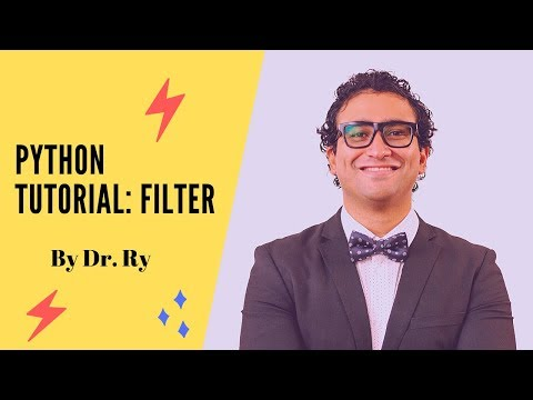 Python Tutorial on Functions | Part 5 on 'Filter' | By Dr. Ry @Stemplicity thumbnail