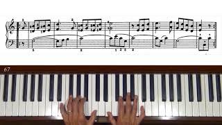 Ferdinand Beyer Vorschule im Klavierspiel Op. 101, Nos. 65 to 73 Piano Tutorial