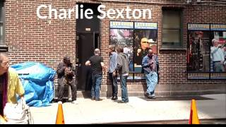 Charlie Sexton at the Late Show with David Letterman 5/19/15