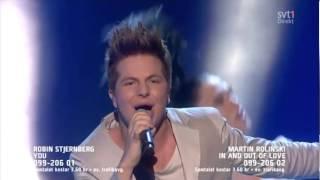 Robin Stjernberg - You 2 (Live Melodifestivalen Andra Chansen 2013)