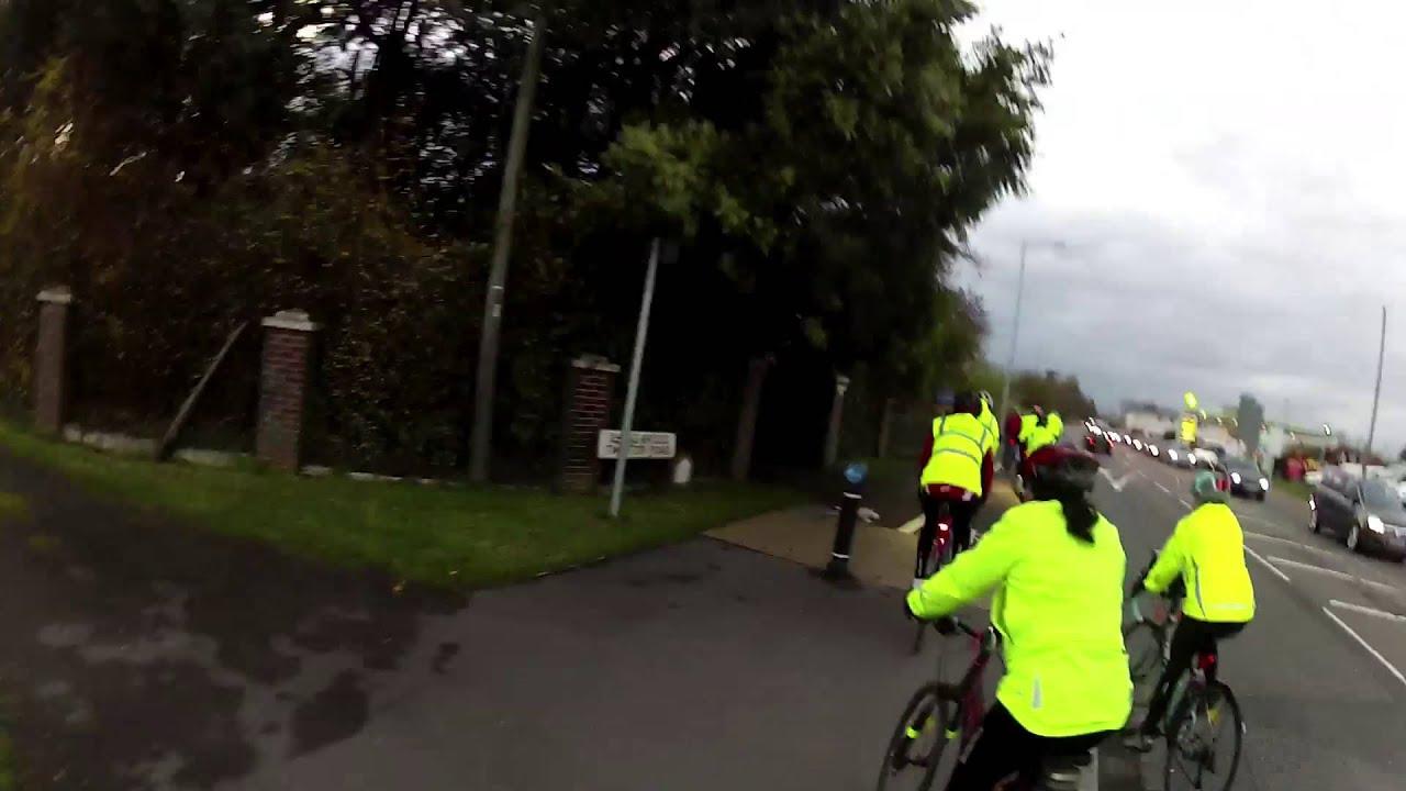The Bridgwater Way Neon Bike Ride