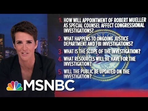 New Questions On Donald Trump-Russia Special Counsel | Rachel Maddow | MSNBC