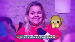 Ju Quer Emagrecer: Domingo Show ajuda esposa do Anão Marquinhos a ser mais saudável