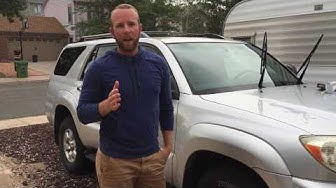 How to Replace Old Wiper Blades Toyota 4Runner
