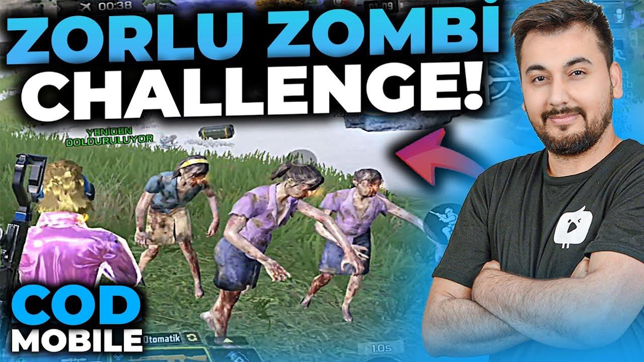ZORLU ZOMBİ CHALLENGE!!