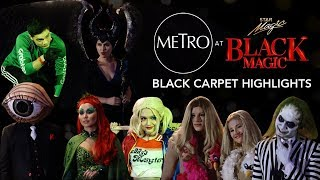 Star Magic's Black Magic Halloween Party Black Carpet Highlights