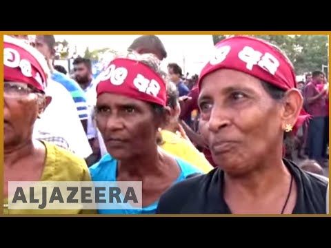 🇱🇰 Rajapaksa leads Sri Lanka protests, calls for government change | Al Jazeera English