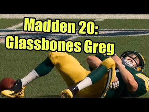 Madden 20: Glassbones Greg (Highest Injury Sliders, Lowest Injury Rating)