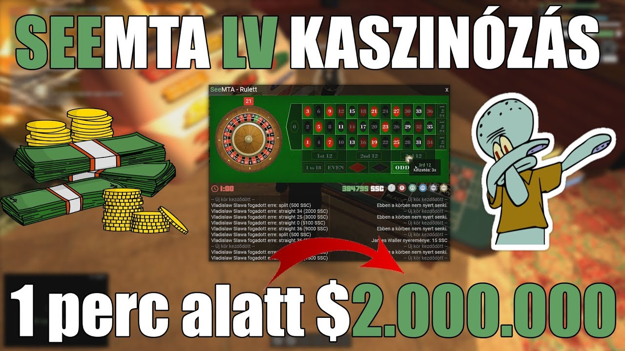 See LV l 1 perc alatt $2.000.000 ? l Kaszinó #8