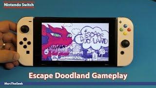 Nintendo Switch Escape Doodland Gameplay