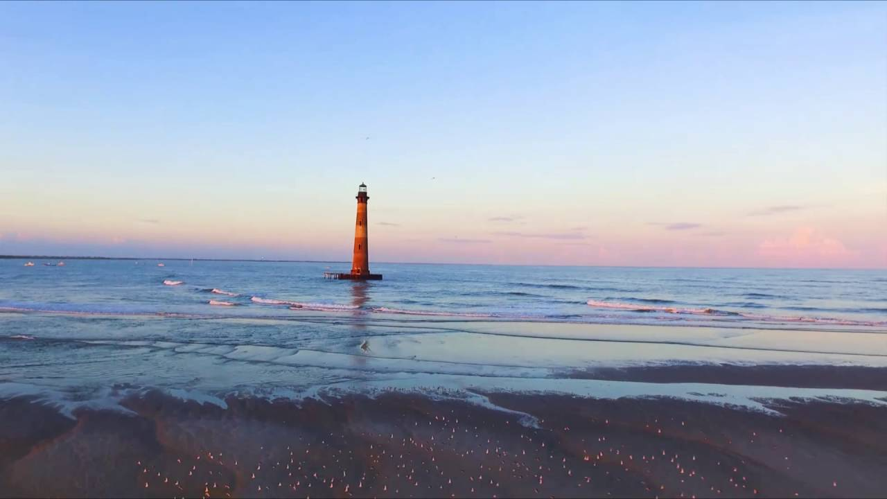 Folly Beach Drone - Morris Island Lighthouse Lighting Ceremony & Folly Beach Drone - Morris Island Lighthouse Lighting Ceremony ... azcodes.com