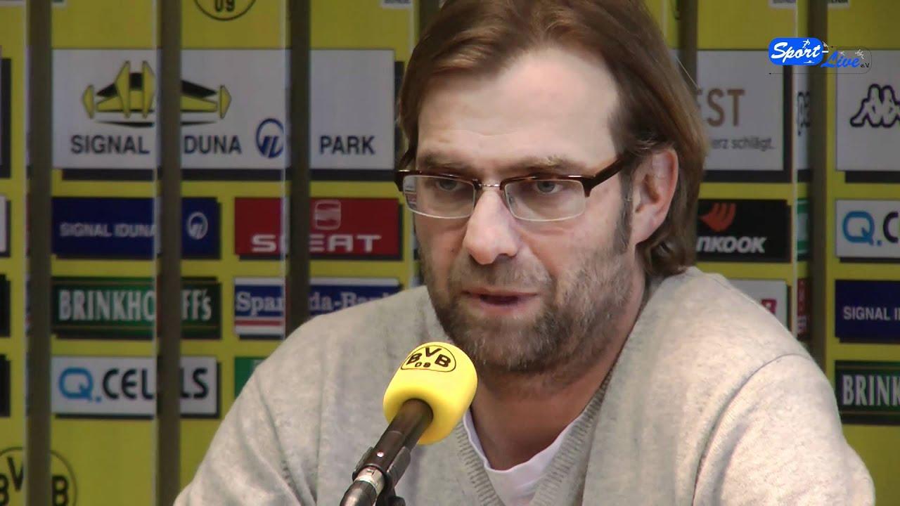 Borussia Dortmund - Hannover 96 : Jürgen Klopp freut sich auf das Spiel (Teil 1)