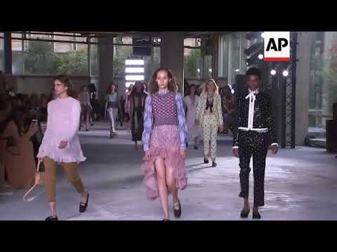Salma Hayek and husband Francois-Henri Pinault attend Giambattista Valli fashion show in Paris