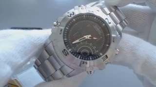Casio Outgear Thermometer, Hunting Timer Watch AMW 705D 1AV
