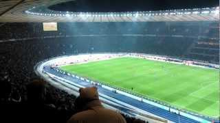 Hertha BSC vs. Union Berlin 2:2 Ausgleichstreffer, 11.02.2012