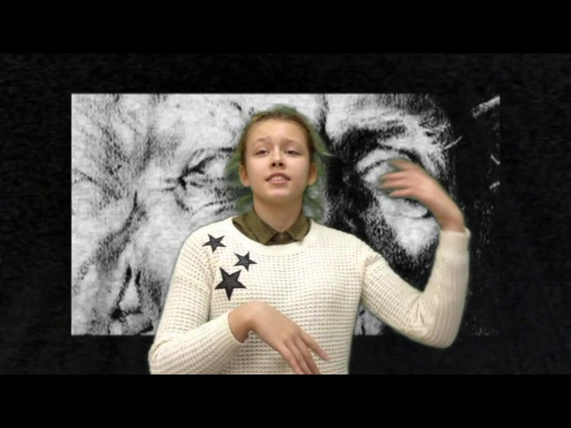 Изображение предпросмотра прочтения – АлександраБурда читает произведение «Баллада об одном короле и тоже об одной блохе» В.В.Маяковского