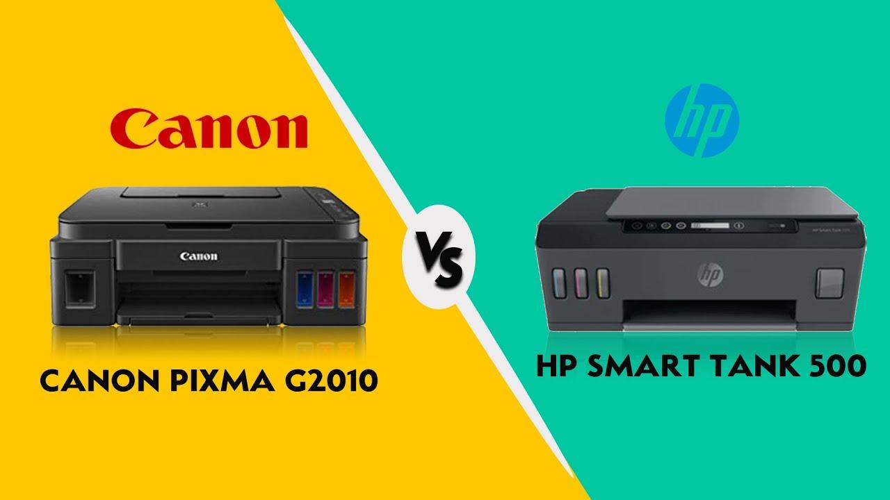 Perbandingan Printer Canon Pixma G2010 Vs Hp Smart Tank 500 Mana Yang Terbaik Specs Comparison Youtube