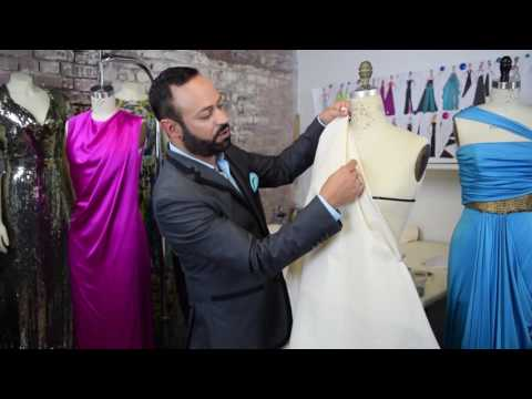 Advanced Draping- Fashion School with Nick Verreos