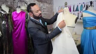Advanced Draping- Fashion School with Nick Verreos