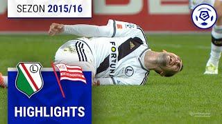 Legia Warszawa - Cracovia 4:0 [skrót] sezon 2015/16 kolejka 33