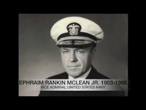United States Navy Hero VDAM Ephraim R McLean Jr.