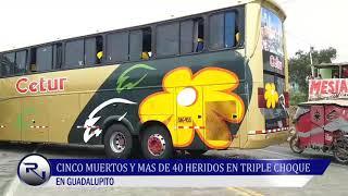 REAL NOTICIAS 03/12/19 - CHOQUE GUADALUPITO