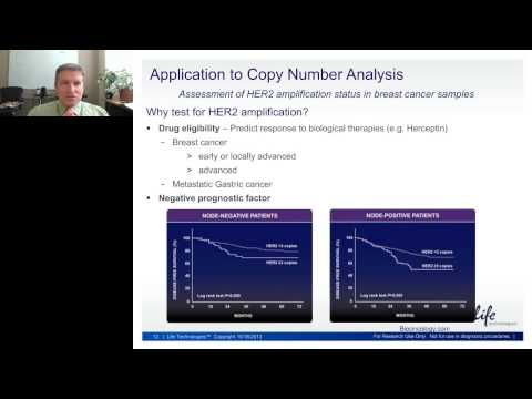 Stephen Jackson - High precision analysis of HER2 copy number variation and other applications...