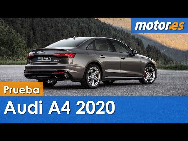Audi A4 2020 | Prueba / Testdrive / Review en Español