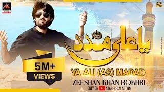 Video Qasida - Ya Ali Madad - Zeeshan Khan Rokhri - 2017 download MP3, 3GP, MP4, WEBM, AVI, FLV Oktober 2018