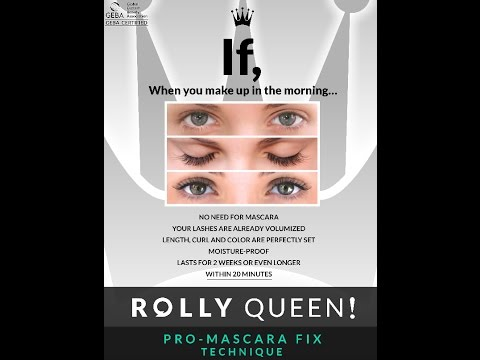 ROLLY QUEEN! Pro Mascara Fix Technique By Max2originale (Semi Permanent Mascara)