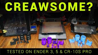 Creawesome Mod tested on Ender 3, Ender 5 and CR-10S Pro