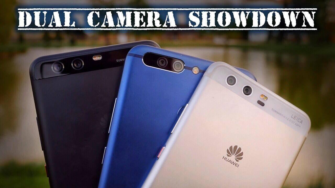 Honor 8 pro vs Huawei P10 Plus vs P10 - Dualcamera REVIEW
