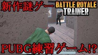 新作!PUBG練習ゲームがやばすぎるww【Battle Royale Trainer】
