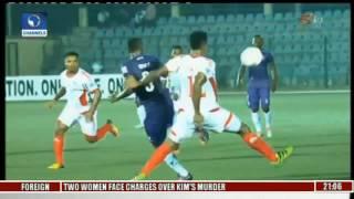 sports tonight mfm striker sikiru olatunbosun listed as cnn goal of the week