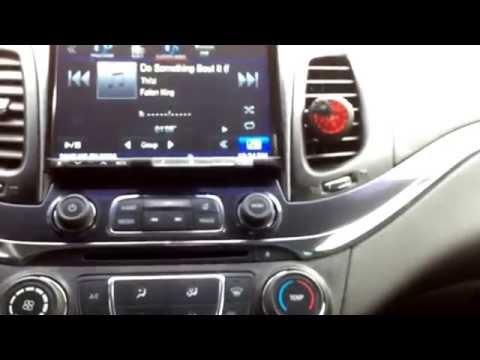 "8"" alpine radio install on 2014 impala part 2"