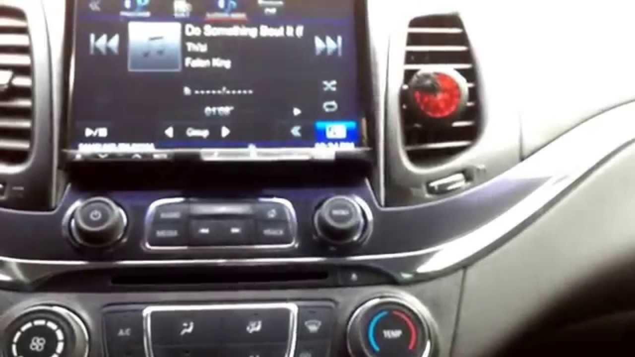 8 Alpine Radio Install On 2014 Impala Part 2 YouTube
