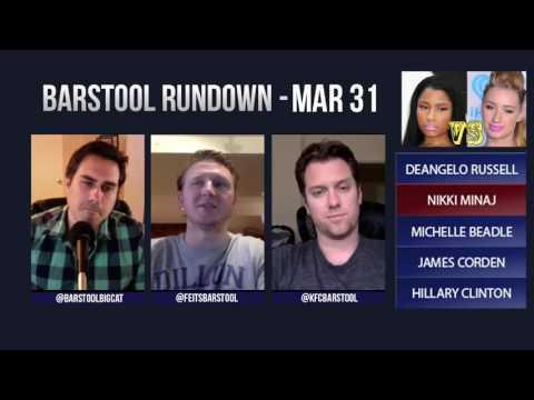 Barstool Rundown // March 31st 2016