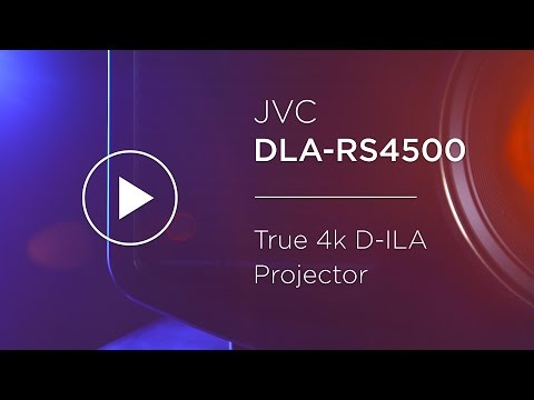 JVC DLA-RS4500 True 4k D-ILA Projector