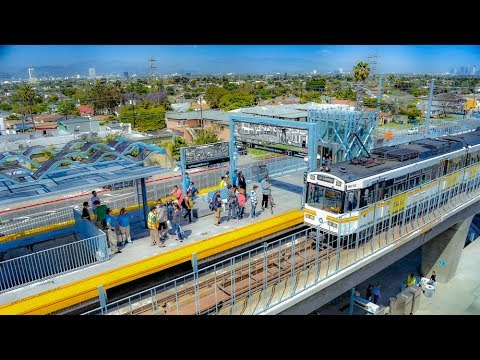 Riding The Expo Line: Union Station Downtown To Santa Monica