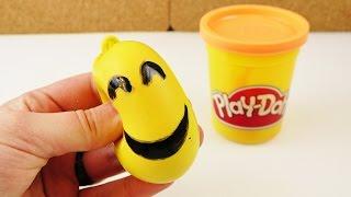 Orbeez Ball Alternative | Emoji Play-Doh Antistressball selber machen | Deutsch