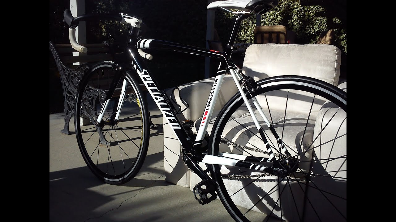 e727745757ec 2012 Langster Specialized With Mavic Ellipse Wheelset Track - YouTube