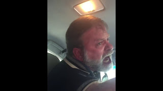 Uber Driver Old Man goes NUTS on passenger