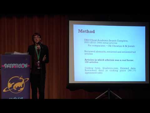 Why is Psychology Silent When it Comes to Atheism? - Dr. Melanie Brewster - Skepticon 7