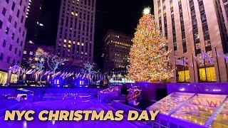 NYC LIVE Christmas Day 🎄 Exploring Manhattan (December 25, 2020)