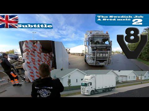 A kamionos egy napja Svédországban 2.
