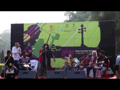 world music , wrong tuli and otava yo (Russia) at sur jahan 2017