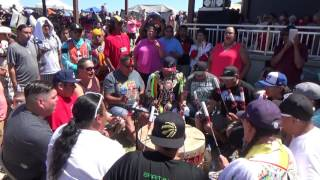 Northern Cree - Host Drum - Grand Entry Song 2 in Mandaree July 14, 2017