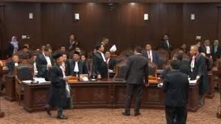 SIDANG PERKARA PERSELISIHAN HASIL PEMILU PRESIDEN/WAKIL PRESIDEN TAHUN 2019
