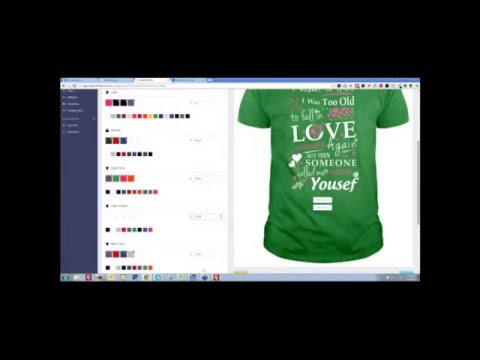 Custom T Shirts - Design And Sell Custom T Shirts Online