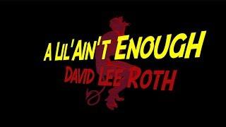 A lil' ain't enough - david lee roth (guitar solo cover)